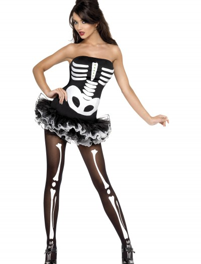 Womens Sexy Skeleton Costume buy now