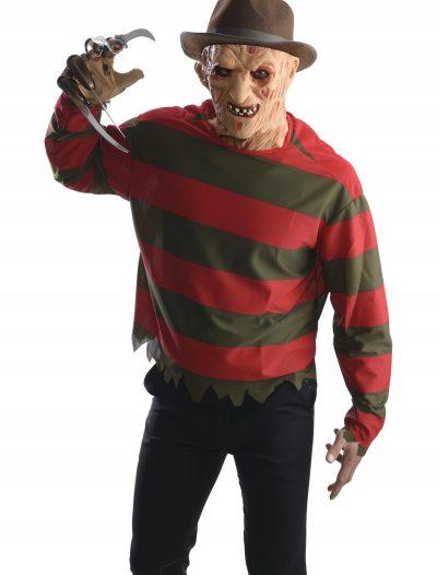 Adult Freddy Krueger Shirt w/ Mask buy now