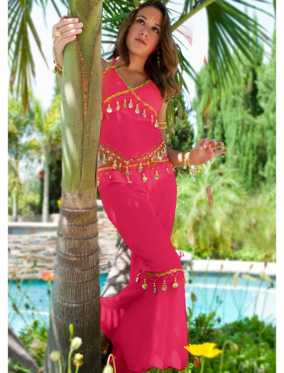 Fuchsia Teen Belly Dancer Costume buy now