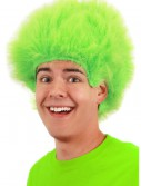 Fuzzy Lime Wig buy now