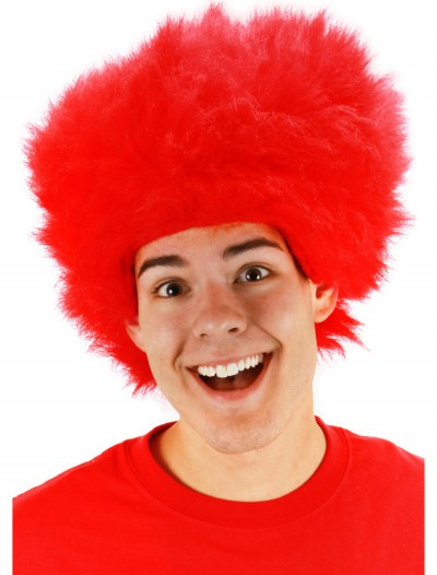 Fuzzy Red Wig buy now