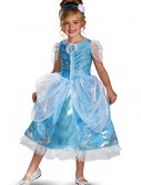 Girls Cinderella Sparkle Deluxe Costume buy now