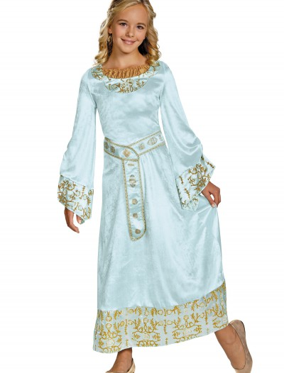 Girls Deluxe Aurora Blue Dress Costume buy now