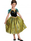 Girls Frozen Deluxe Anna Coronation Gown buy now