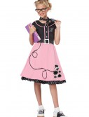 Girls Pink 50s Sweetheart Costume buy now
