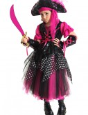 Girls Pink Caribbean Pirate Costume buy now