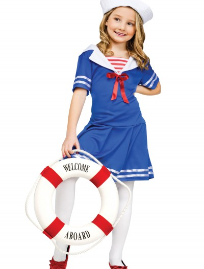 Girls Sweet Sailor Costume buy now