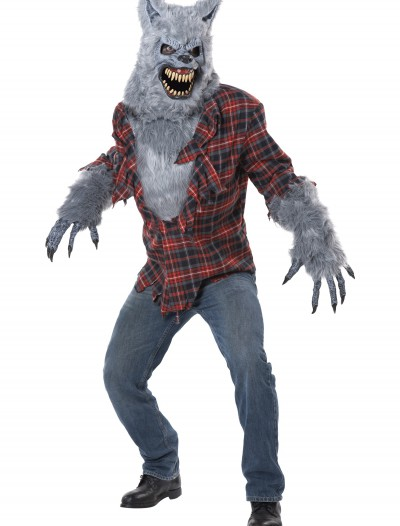 Adult Gray Lycan Werewolf Costume buy now