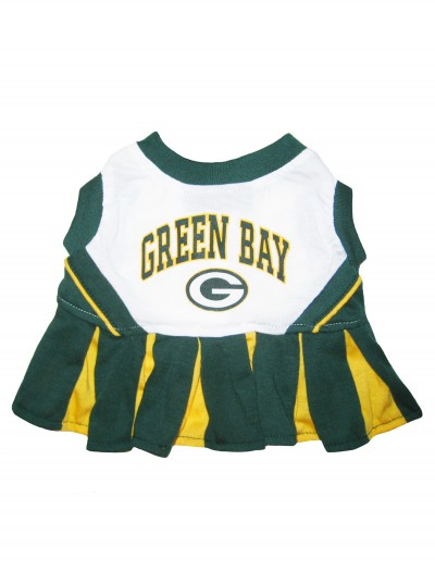 Green Bay Packers Dog Cheerleader Outfit buy now