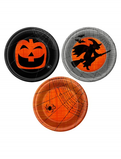 Halloween Spooky Scene Dessert Plates (Pack of 8) buy now