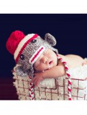 Infant Double Stitch Sock Monkey Hat buy now