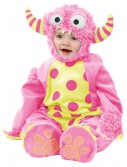 Infant Pink Mini Monster Costume buy now