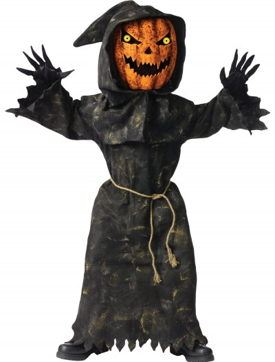 Kids Bobble Eyes Pumpkin Costume buy now