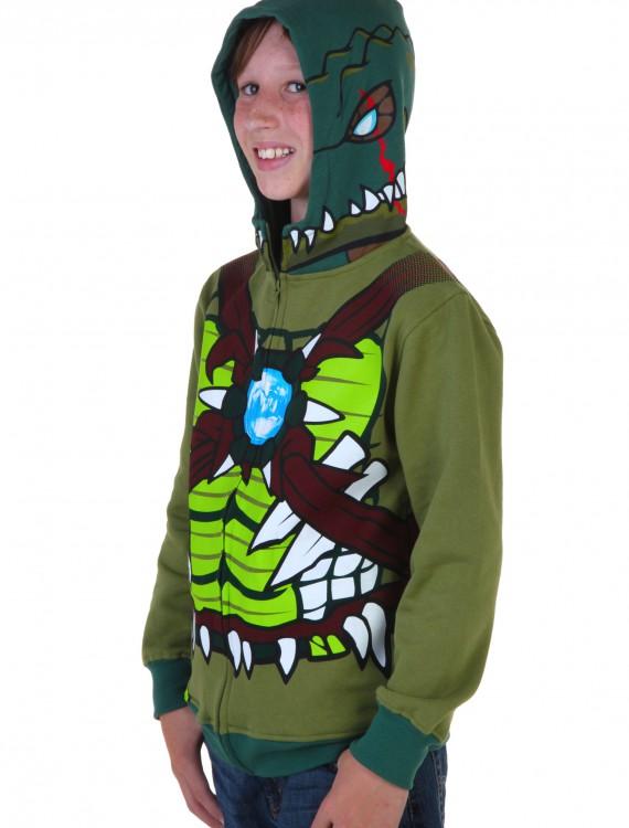 Kids Chima Cragger Croc Costume Hooded Sweatshirt buy now