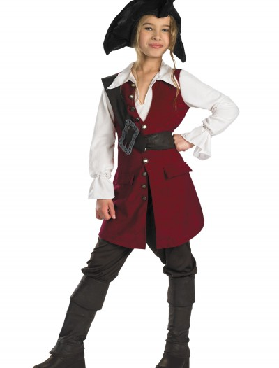 Kid's Elizabeth Swann Pirate Costume buy now