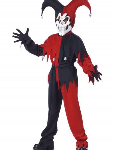 Kids Evil Jester Costume buy now