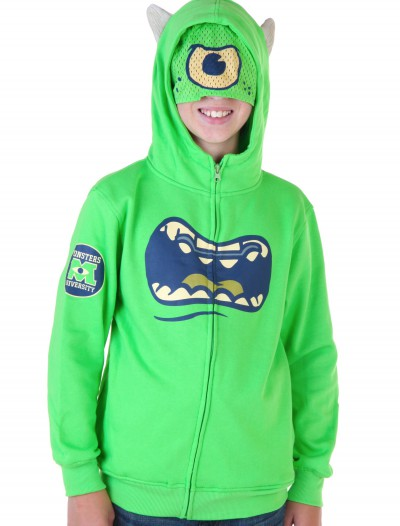 Kids Monsters University Mike Wazowski Costume Hoodie buy now