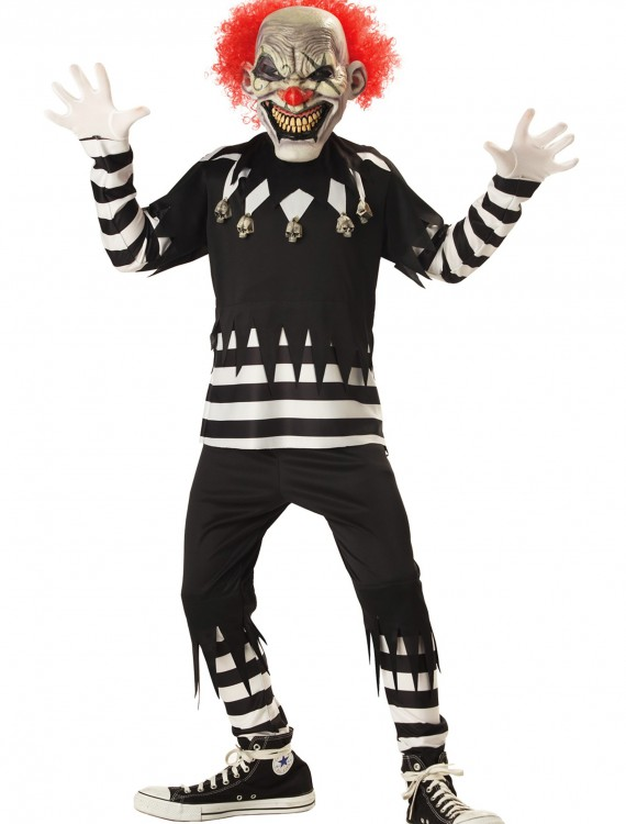 Kids Psycho Clown Costume buy now