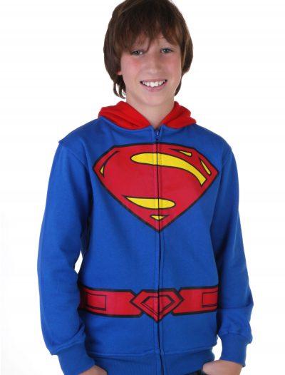 Kids Superman Logo Costume Hoodie buy now