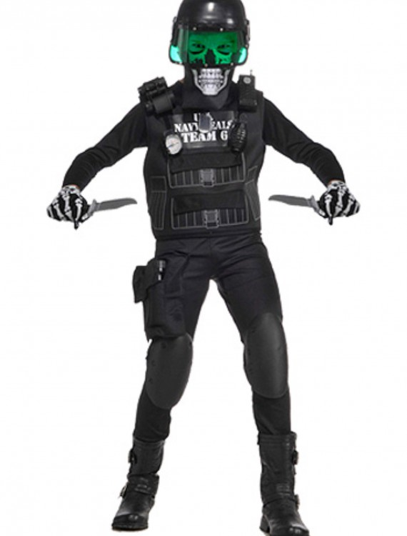 Kids Zombie Navy Seal Costume buy now
