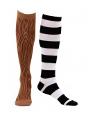 Knee-High Mismatched Pirate Socks buy now