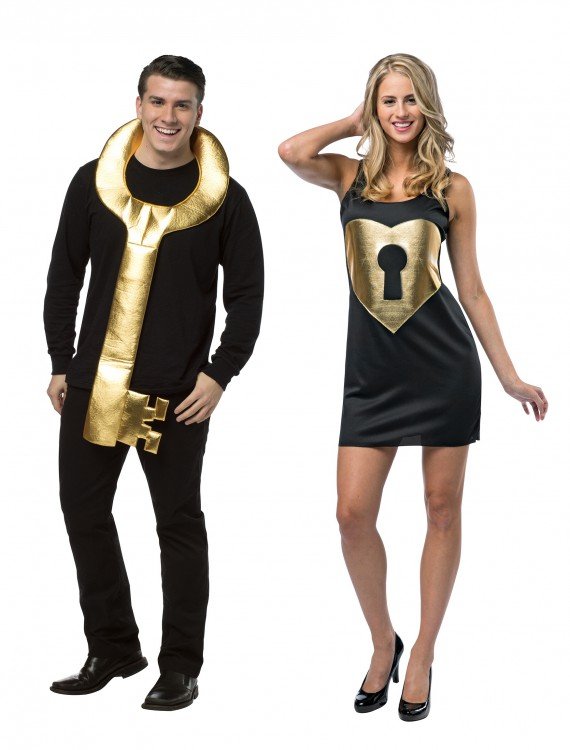 Lock and Key Couples Costume buy now