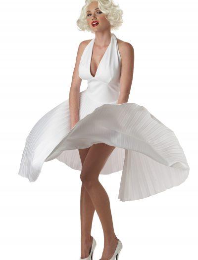 Marilyn Monroe Deluxe White Halter Dress buy now