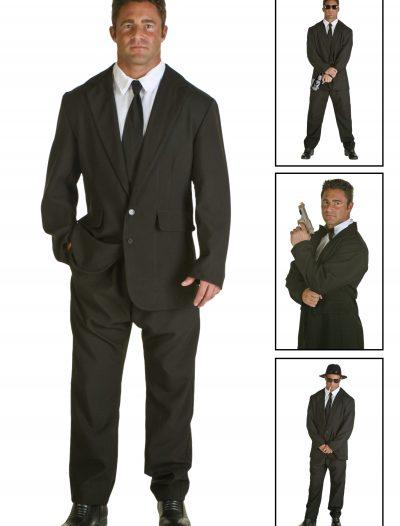 Mens Black Suit Costume buy now