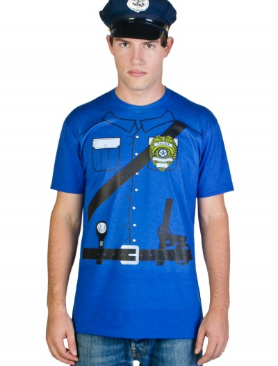 Mens Cop Costume T-Shirt buy now