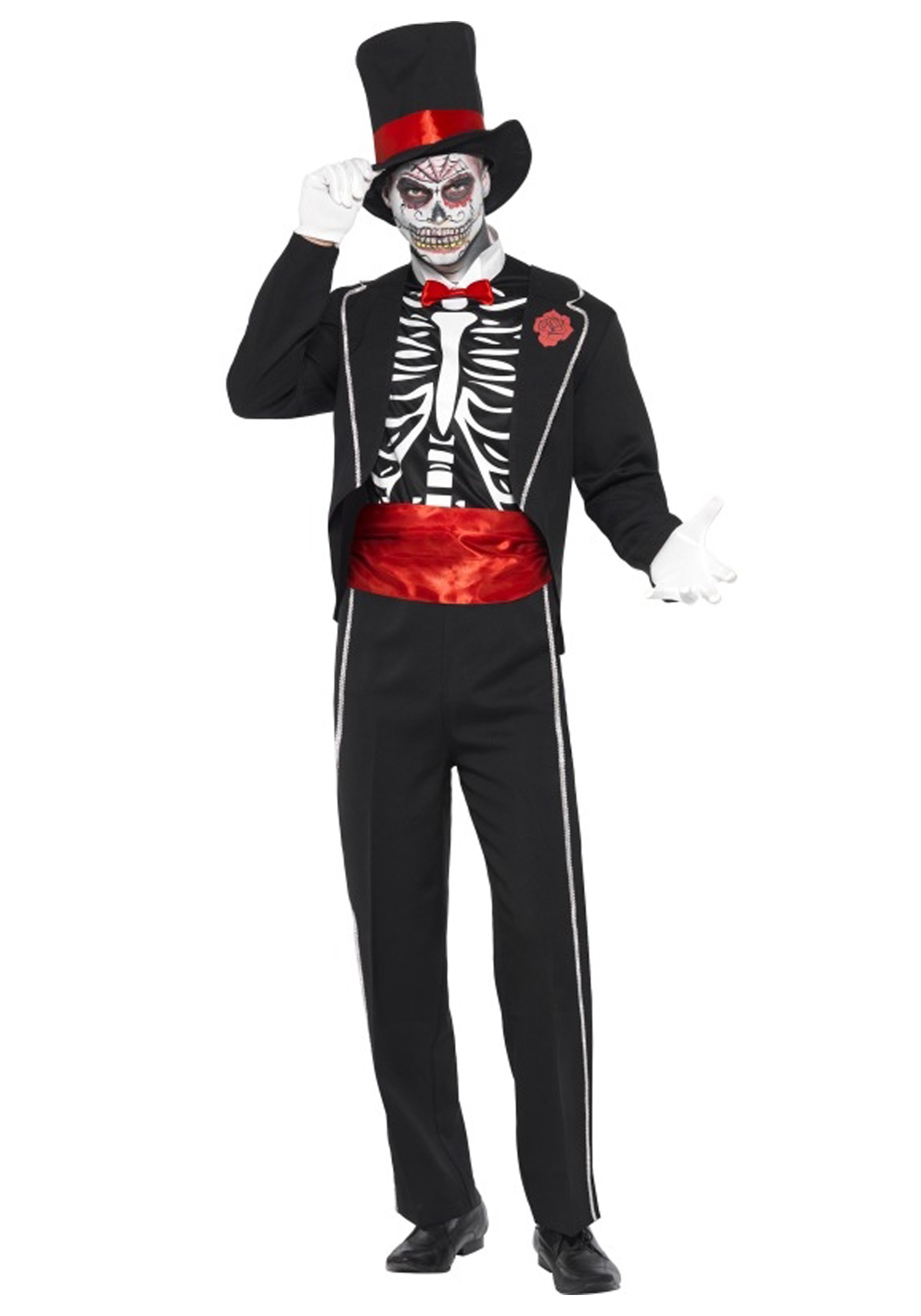 Mens Day of the Dead Costume - Halloween Costumes
