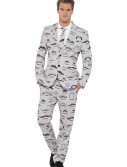 Men's Mustache Suit buy now
