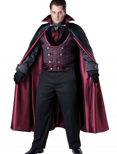 Men's Plus Size Midnight Vampire Costume buy now