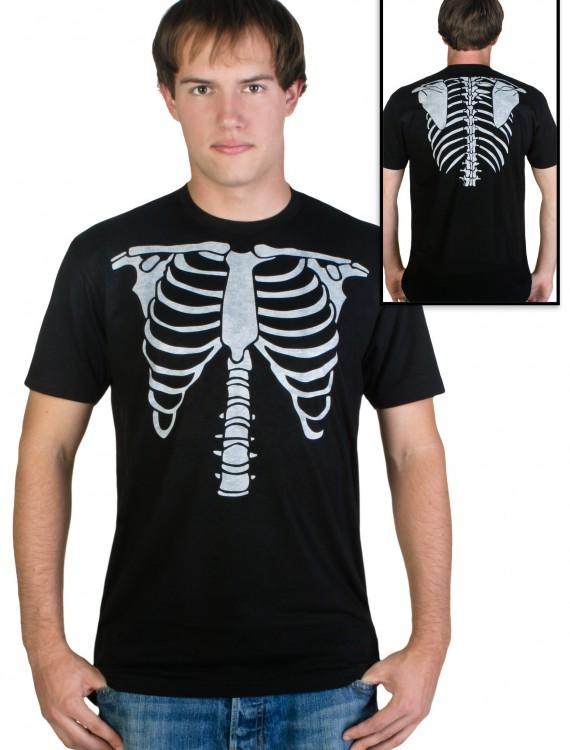 Mens Skeleton Costume T-Shirt buy now