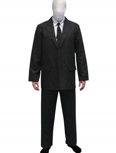 Mens Slenderman costume Morphsuit buy now