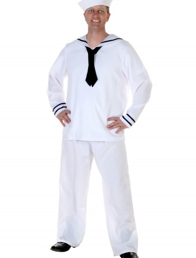 Men's White Sailor Costume buy now