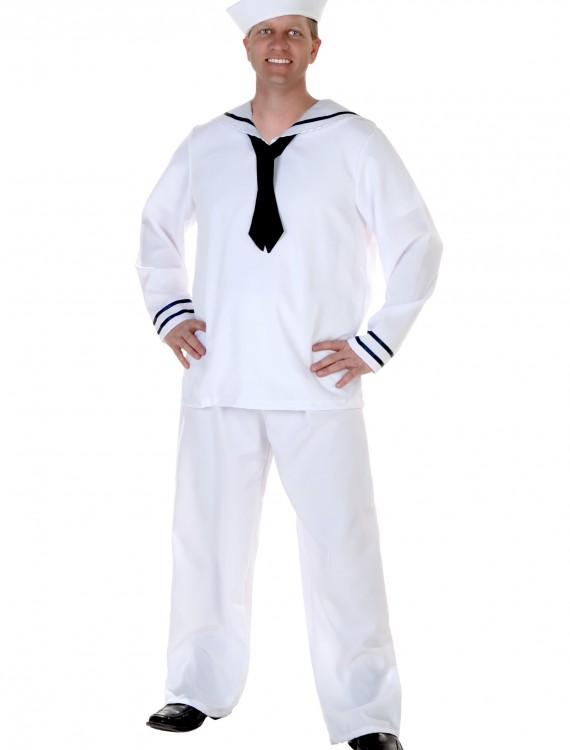 Men's White Sailor Costume buy now