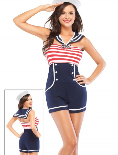 Nautical Pin Up Sailor Costume buy now