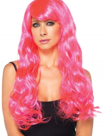 Neon Pink Long Wig buy now