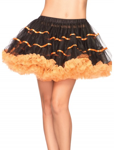Orange and Black Tulle Petticoat buy now