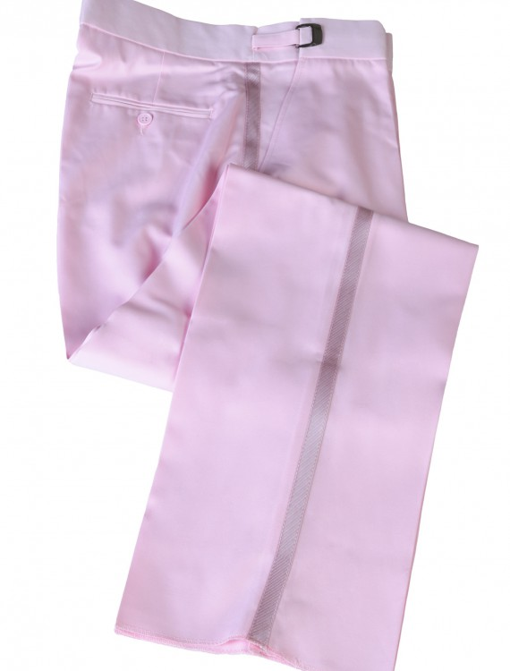 Pink Tuxedo Pants buy now