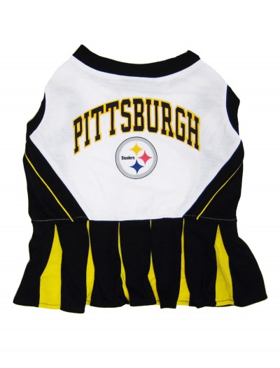Pittsburgh Steelers Dog Cheerleader Outfit buy now