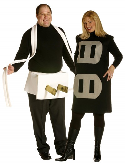 Plug and Socket Plus Size Costume buy now