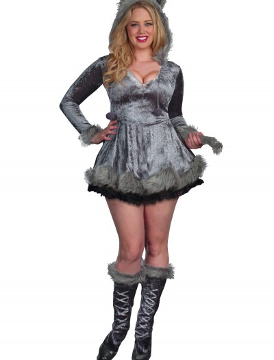 Plus Size Bad Sexy Wolf Costume buy now