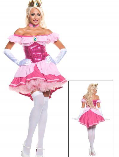 Plus Exclusive Sexy Sequin Pink Princess Costume buy now