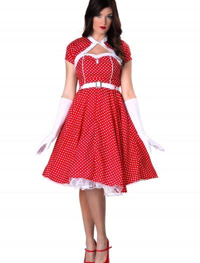 Plus Size 1950s Sweetheart Dress Costume buy now