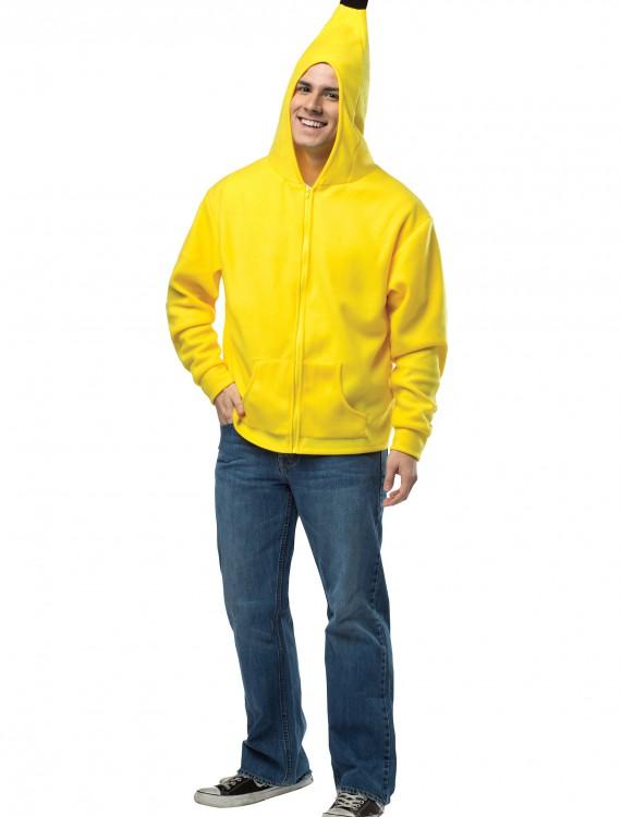 Plus Size Adult Banana Hoodie buy now