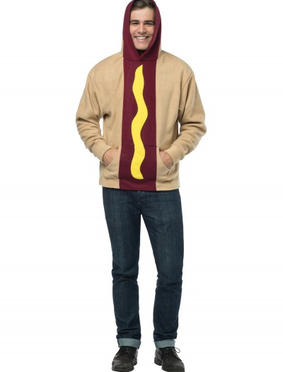 Plus Size Adult Hot Dog Hoodie buy now