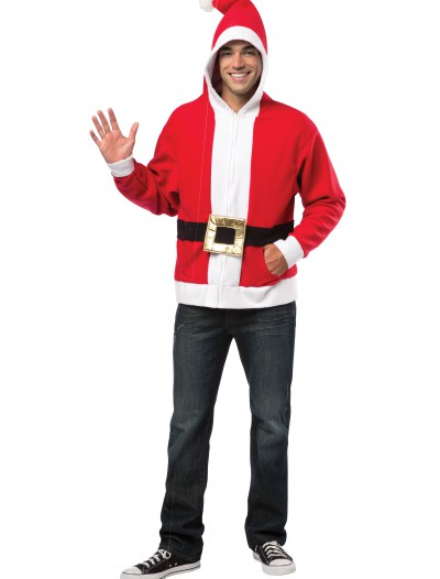 Plus Size Adult Santa Hoodie buy now