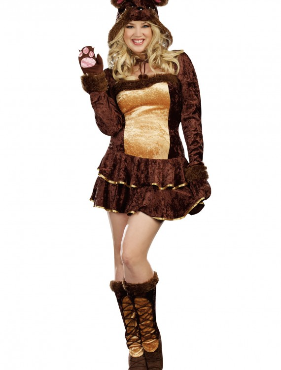 Plus Size Bear Hugs Costume buy now