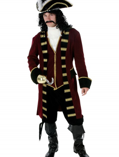 Plus Size Deluxe Captain Hook Costume buy now